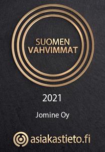 Sähkötarkastukset | Suomen vahvimmat diplomi Jomine Oy 2021